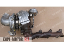 Б/У  Турбокомпрессор  (турбина) 17201-26070, 1720126070 Toyota RAV4, Toyota Avensis D-CAT