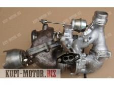 Б/У Турбокомпрессор (турбина) A6510902880, A6510905780, A6510904580001 Mercedes-Benz S204, Mercedes Sprinter 2.2 CDI Bi-Turbo