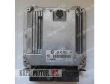 Б/У Блок управления двигателем ( БУД ) 7P0907401F Volkswagen Touareg 3.0 TDI / CRCA