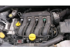 Б/У Мотор K4J780, K4J-780  Двигатель Renault Clio 1.4